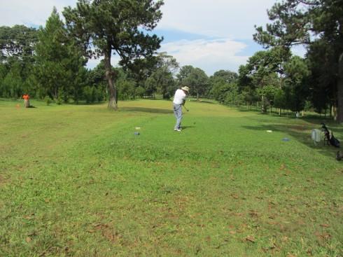 Driving at Entebbe Golf Course