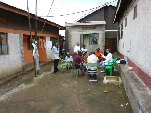 Meeting Pastor Matumo in Kampala