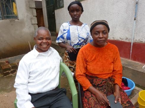 Pastor Matumo with wife Josephine