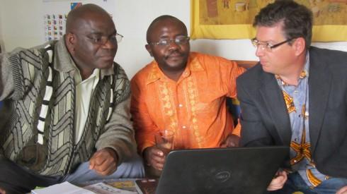 Elisha, Pastor Tsongo and Michael