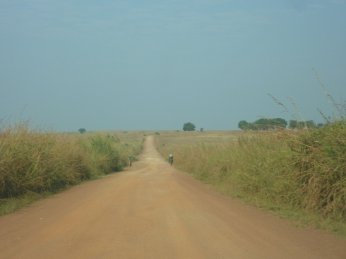 Driving south from Bunia