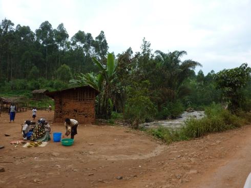 Approaching Butembo