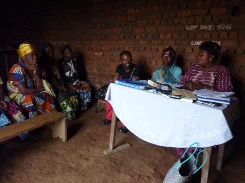 Saasita leading the CSCODI microfinance group