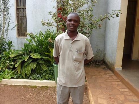 Congolese entrepreneur and manager of Center Uhai Kikyo