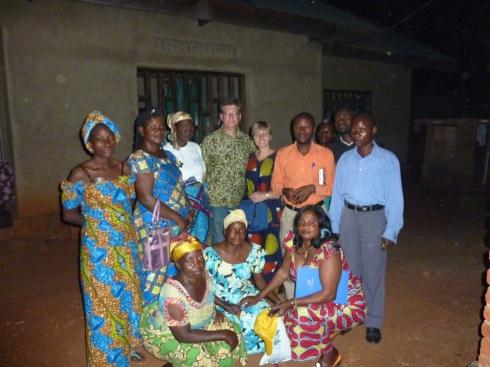 Staff at the CSCODI clinic, Beni, North Kivu, DRC