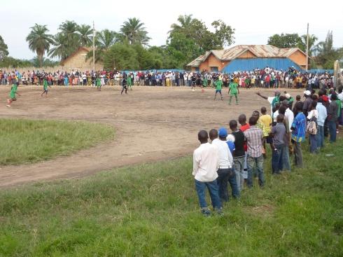 Football match in Bunia