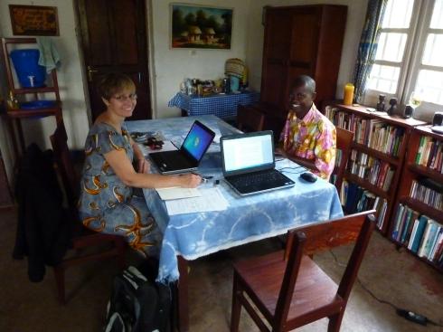 Working with Joseph Rona Katawanga