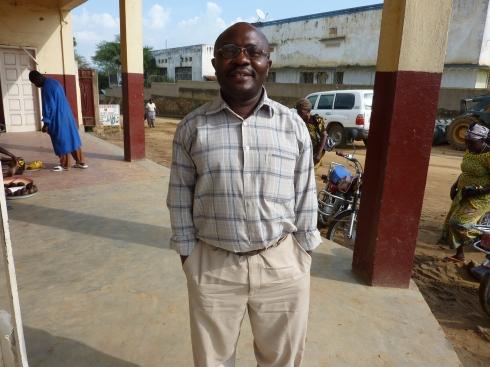 Pastor Tsongo, Head Champlain at CME Nyankunde