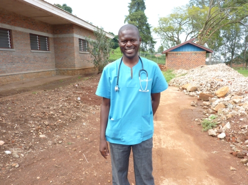 Dr. Mike Upio Nzeni, Executive Director of CME Nyankunde, or simply Dr. Mike