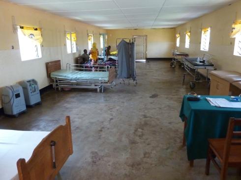 A rebuilt but quieter ward