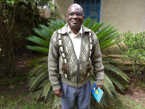 Elisee Undehoso Okameli Isse Mundeke or Elisha, Assistant to the Executive Director at CME Nyankunde