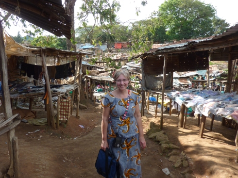 In the UN or Reconciliation market in Bunia, so called because it was created by the UN in support of the local minority tribe