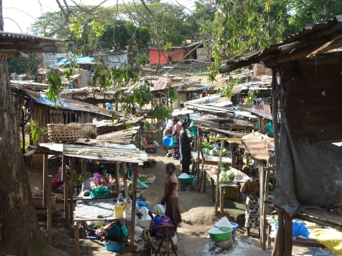 Reconciliation market in Bunia, Orientale, DRC