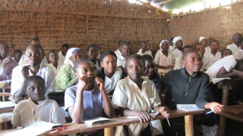 Older students at Muti wa Nzuki School for Orphans