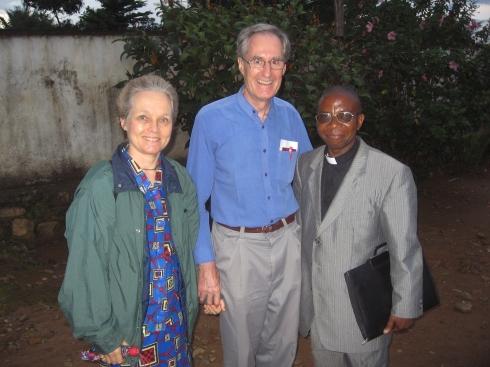 Philip and Nancy Wood the day we met in Beni in 2006