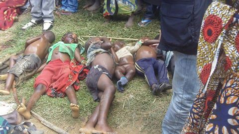Slaughter near Beni