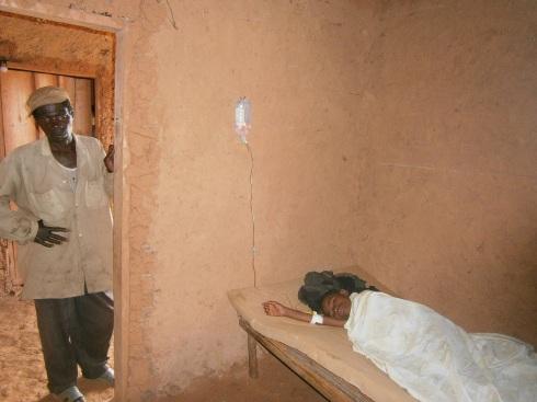 Kalondo Health Centre patient