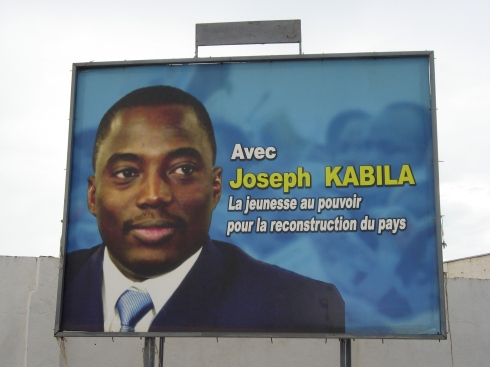 Joseph Kabila 2006 Election Billboard