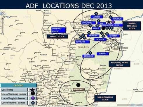 ADF Locations