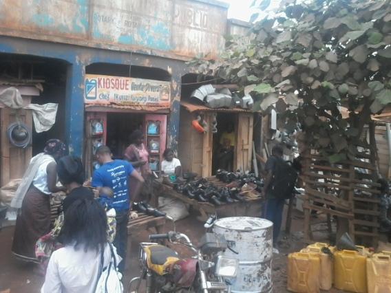 Kiosk in Butembo market