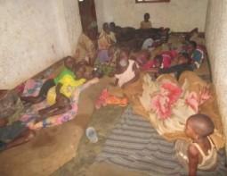 The orphan's dorm / sleeping area