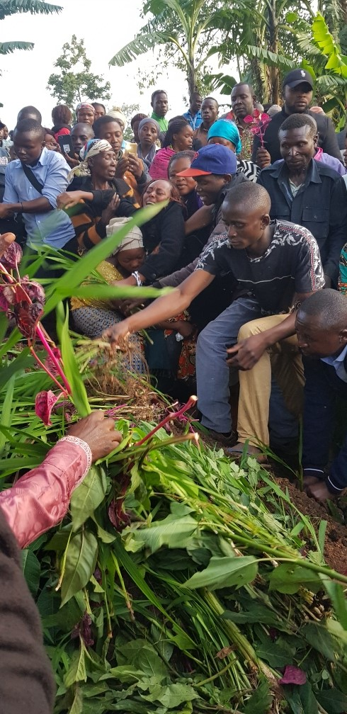 Ebola grieving