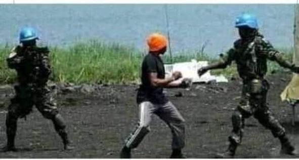 Beni MONUSCO protester
